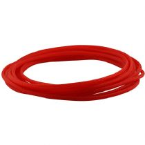 5m UV Red Round 4mm High Density PET Braided Expandable Sleeving